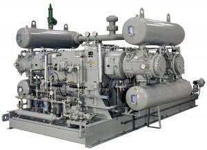 Special hydrogen compressor